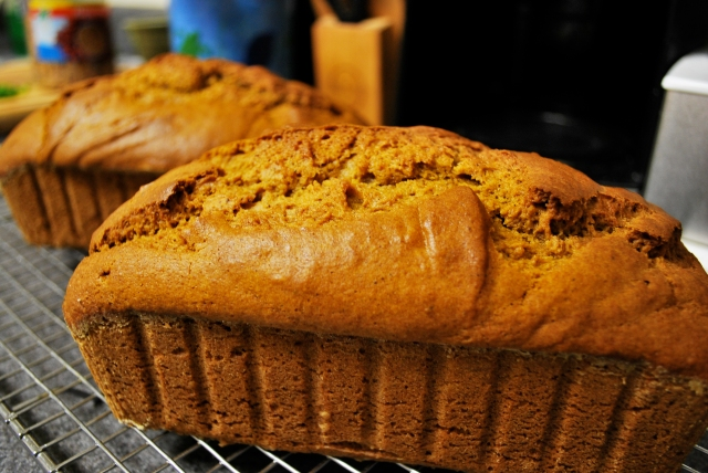 Spiced Pumpkin Loaves