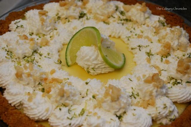 Key Lime Pie with Macadamia-Graham Cracker Crust | The Culinary ...