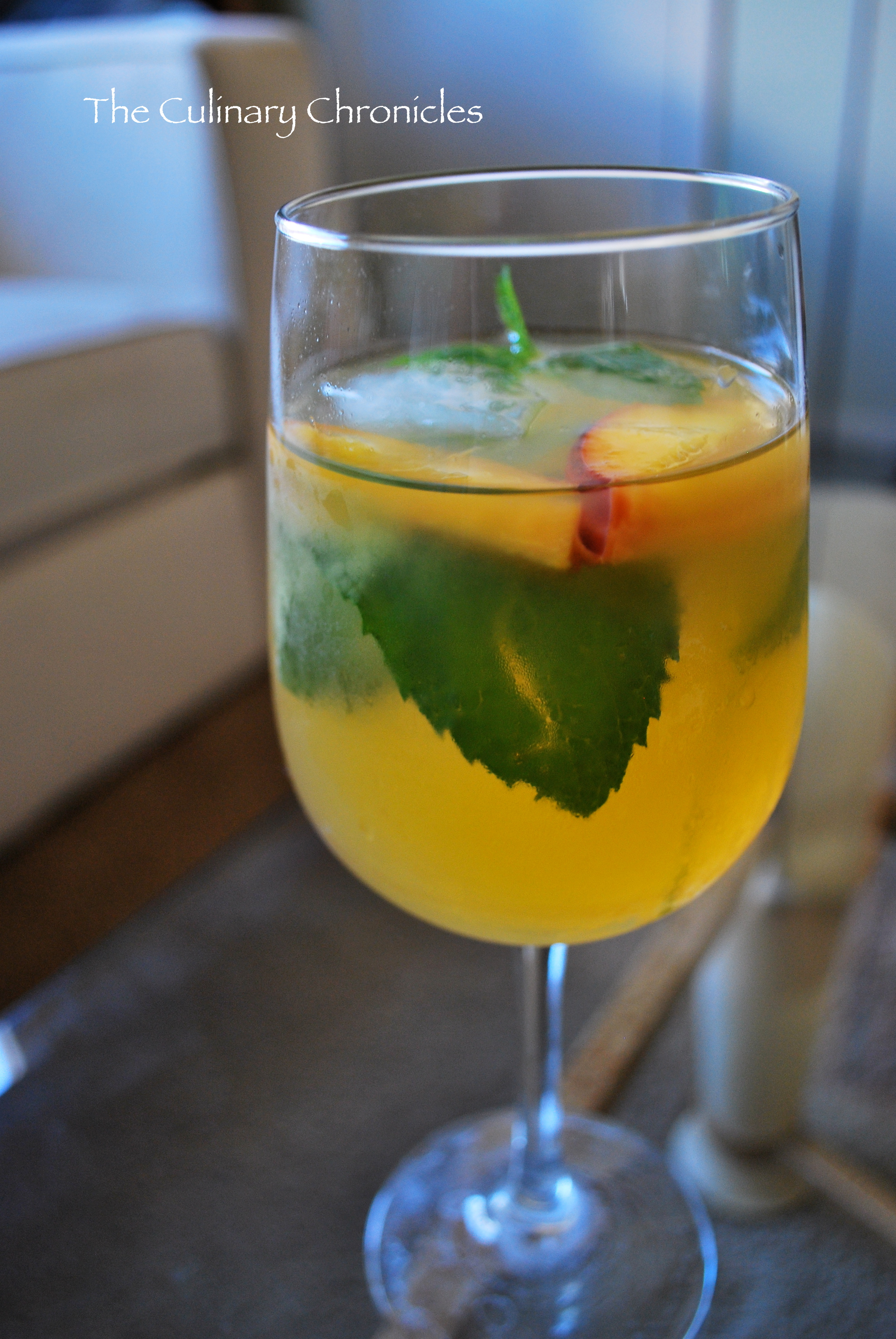 White Wine Sangria with Nectarines and Peaches | The Culinary ...