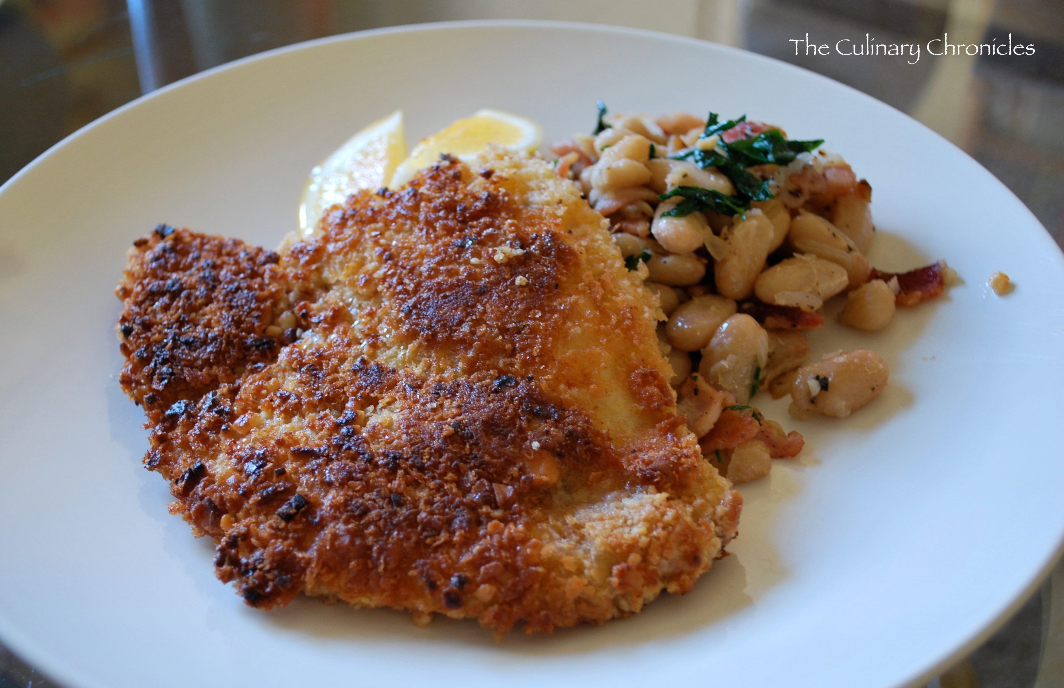 Macadamia Crusted Tilapia | The Culinary Chronicles