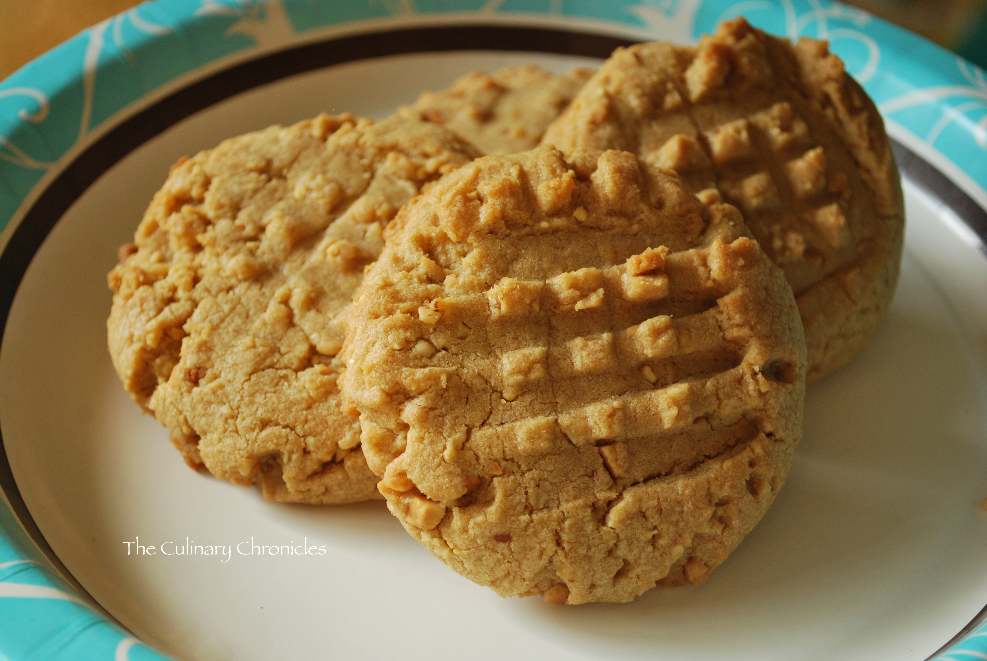 Big, Super-Nutty Peanut Butter Cookies | The Culinary Chronicles