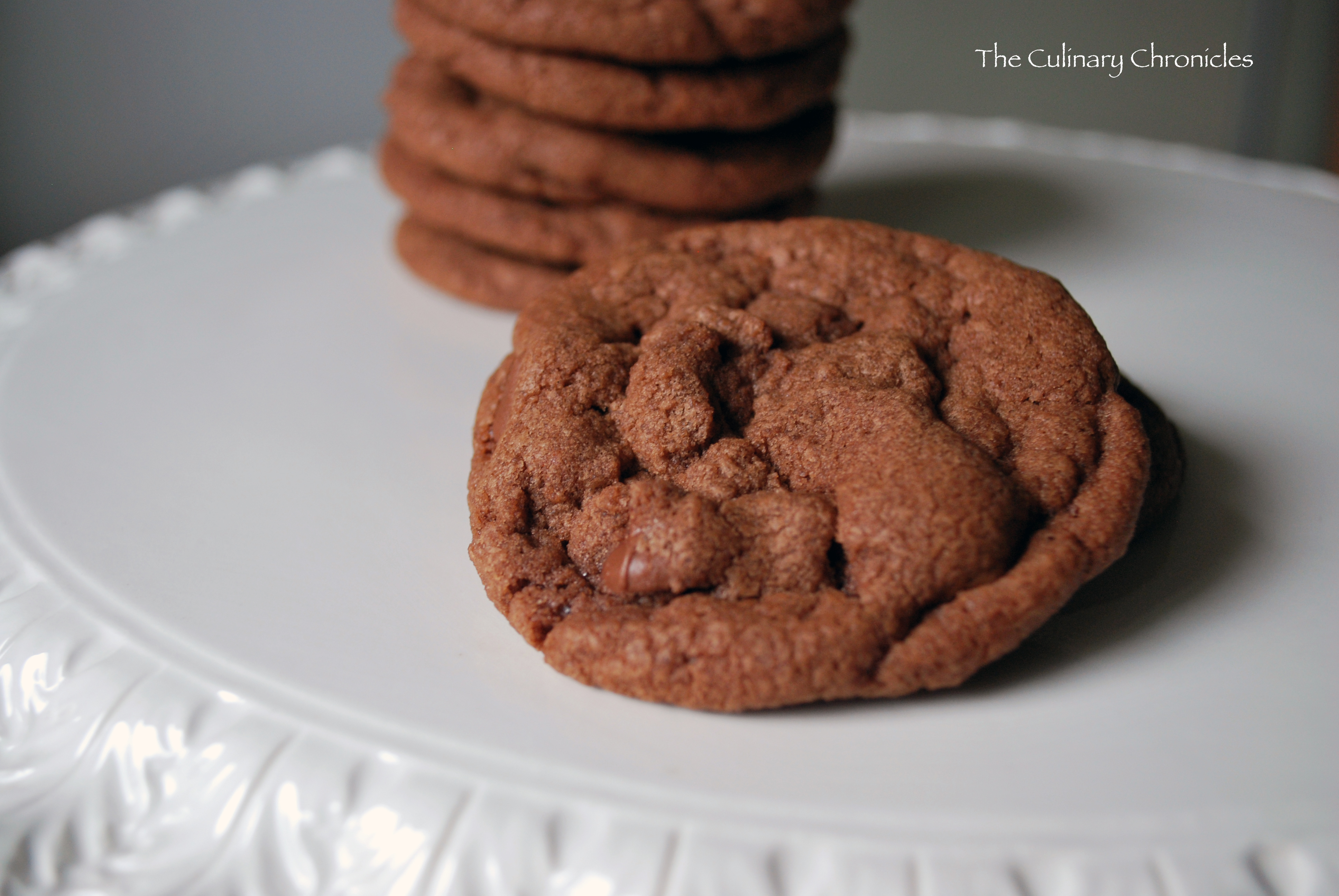 Nutella Chocolate Chip Cookies | The Culinary Chronicles